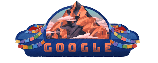 Doodle dedicated by Google on Nepal's 11th Republic Day